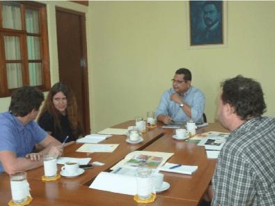 Visita de Profesores y estudiante de la Universidad de Mendel, de República Checa
