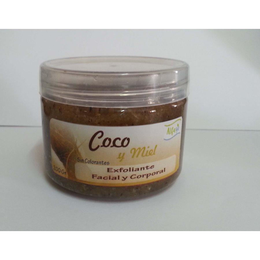 Exfoliante facial y corporal de coco 200gr