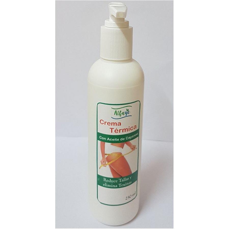 crema termica reductor 250 ml