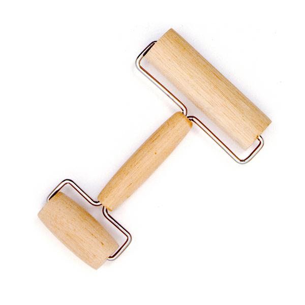 Rodillo de madera para pastelería.