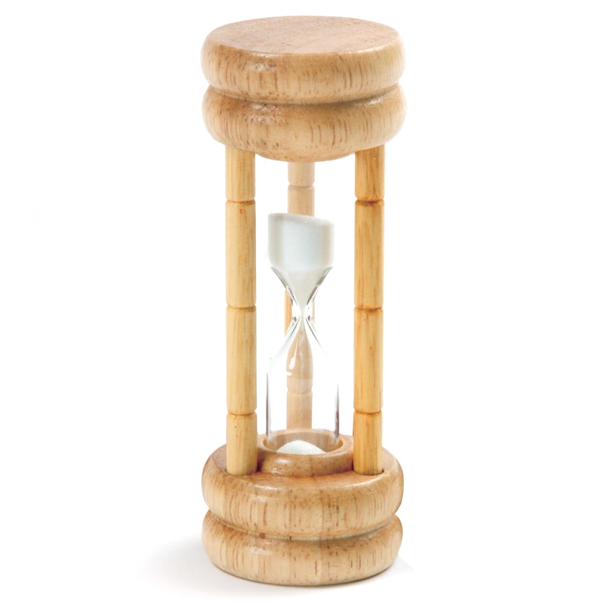 Temporizador de madera.