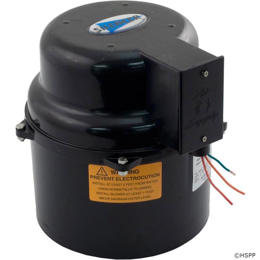 Blower air supply 2 hp
