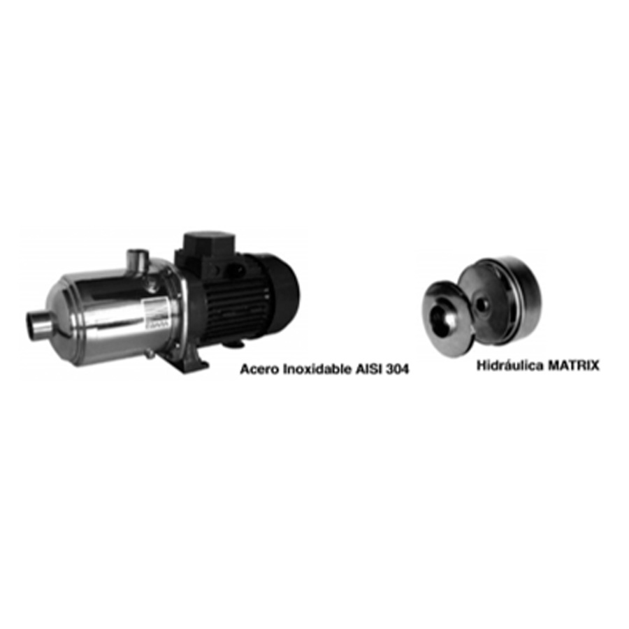 Electrobomba centrifuga multietapa horizontal asi 30
