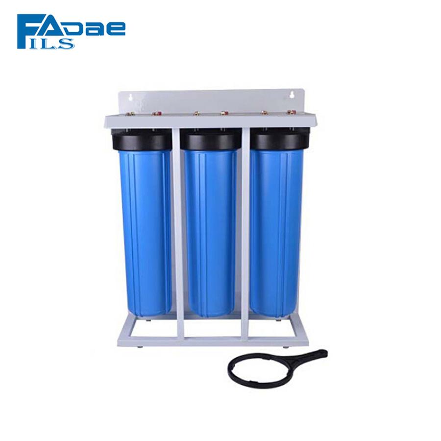 Sistema basico de filtracion 3 pc #10 1/2'