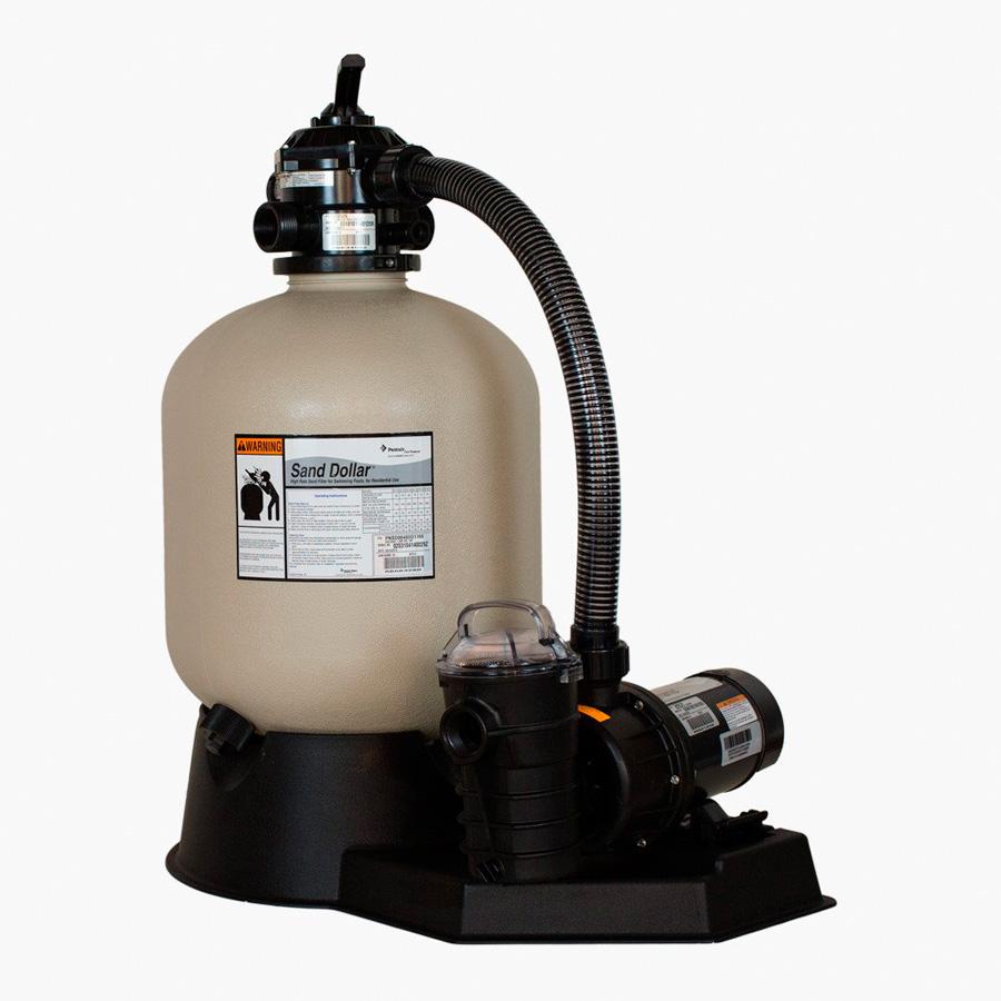 Bomba 1.5 hp dynamo/filtro sd60 250 lb
