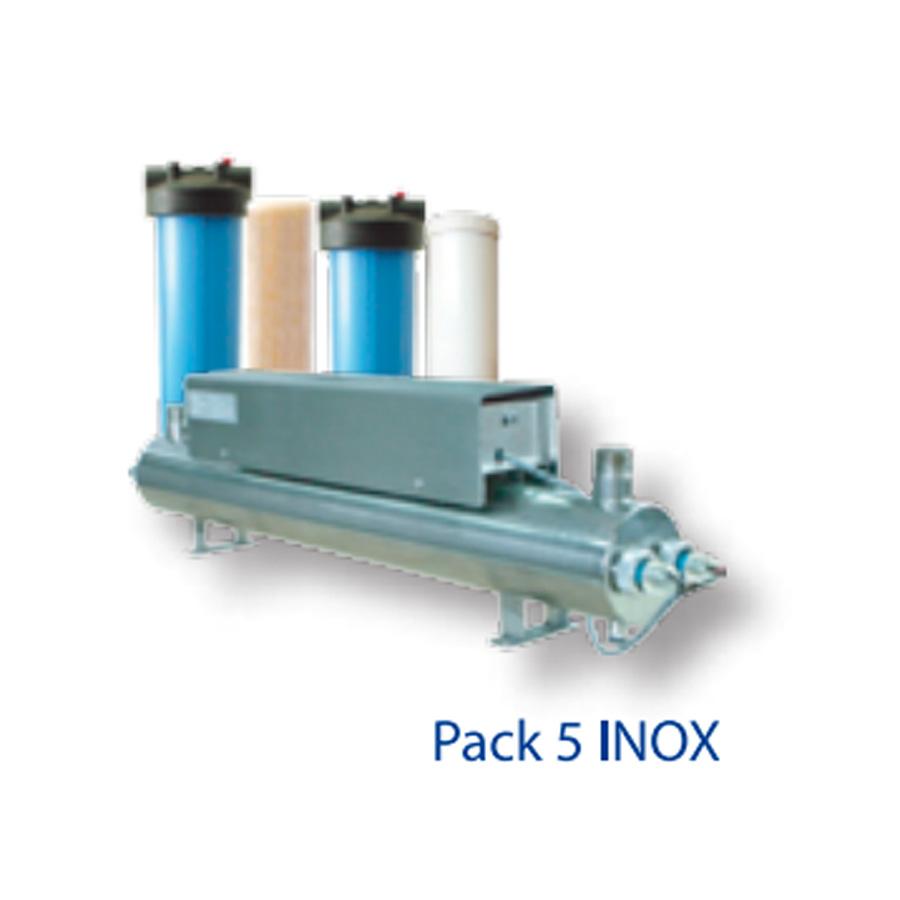 Pack 5 inox instapur