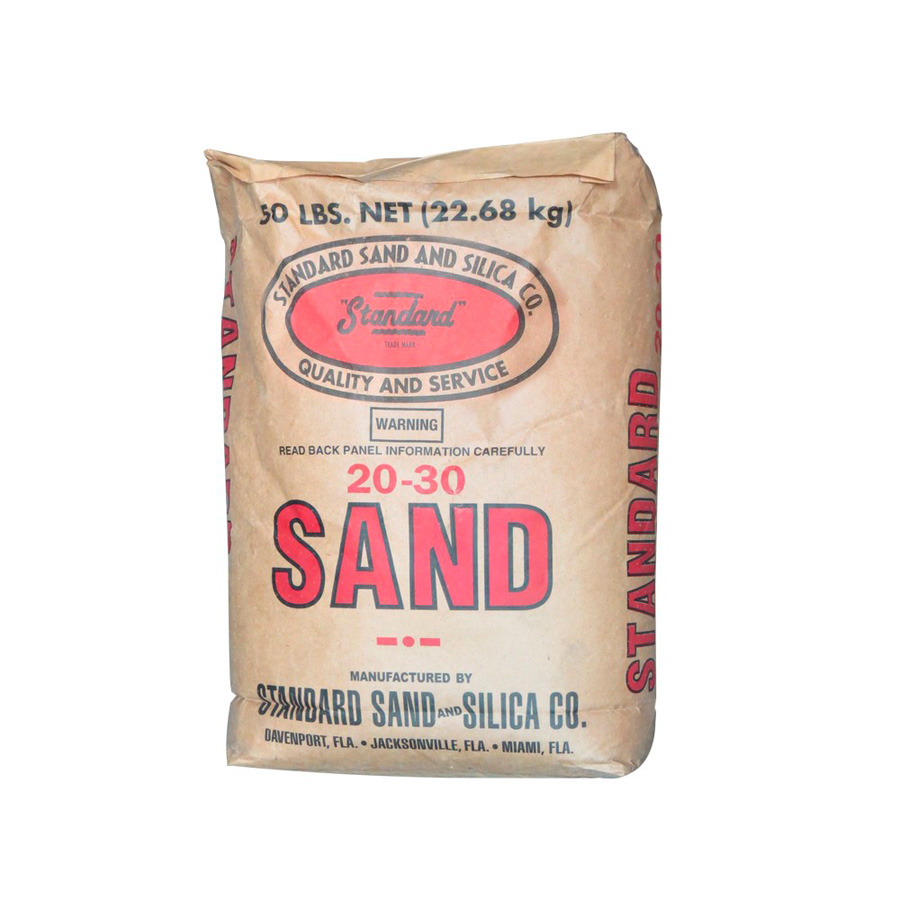 Arena silica standard 20-30 (50 libras