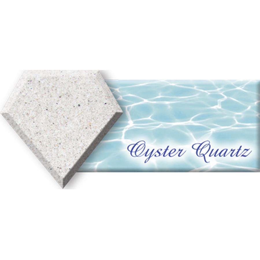 Diamond brite oyster quartz 80 libra