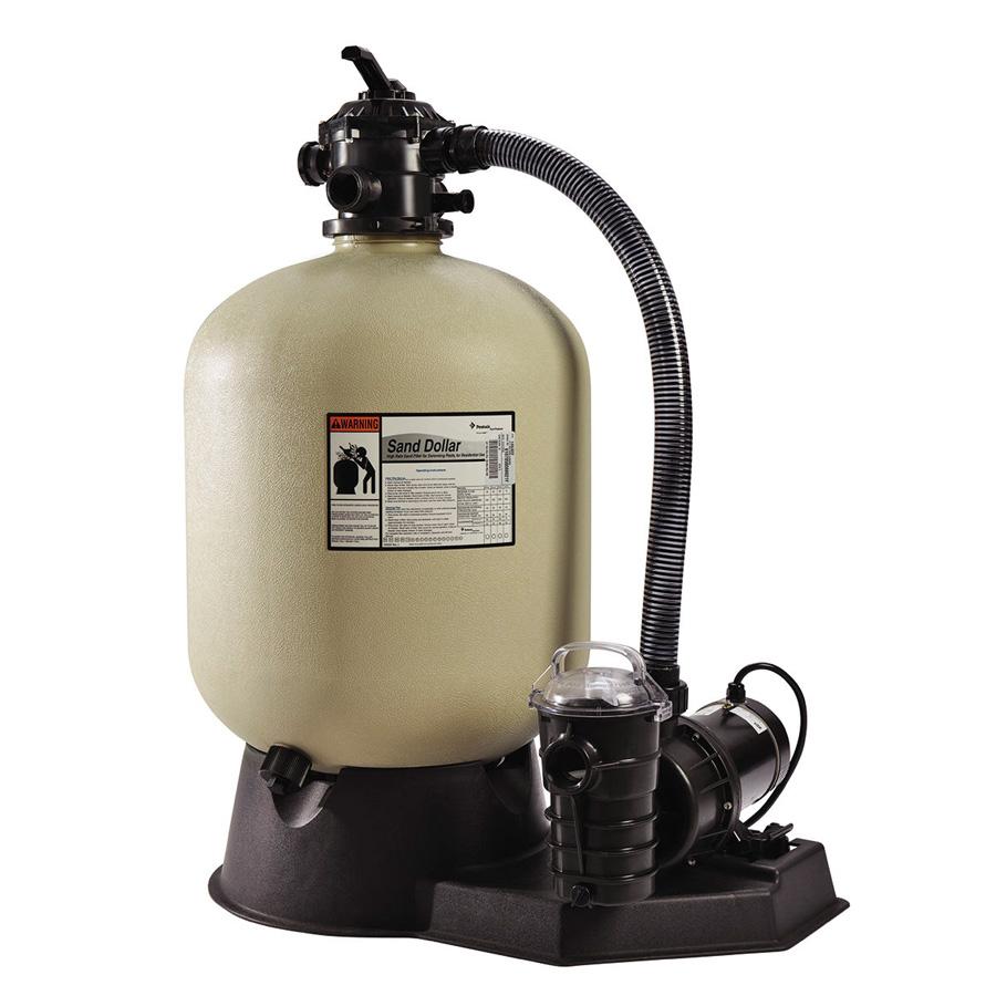 Sistema de filtro de arena sand dolla