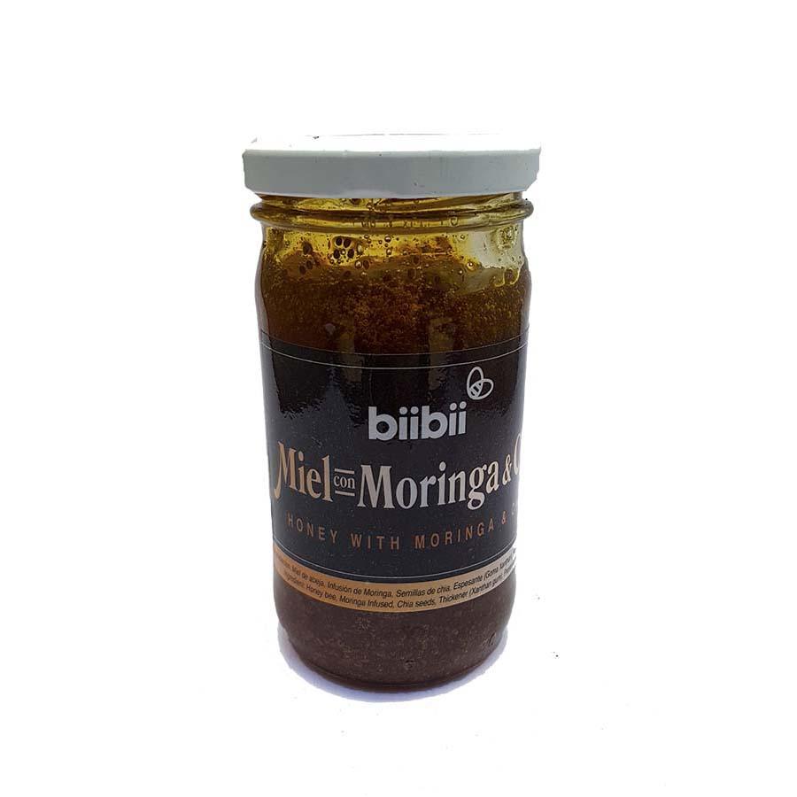 Miel con Moringa y Chía 250 g