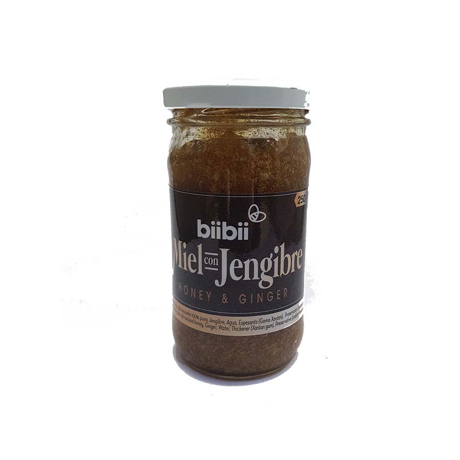 Miel con Jengibre 250 g