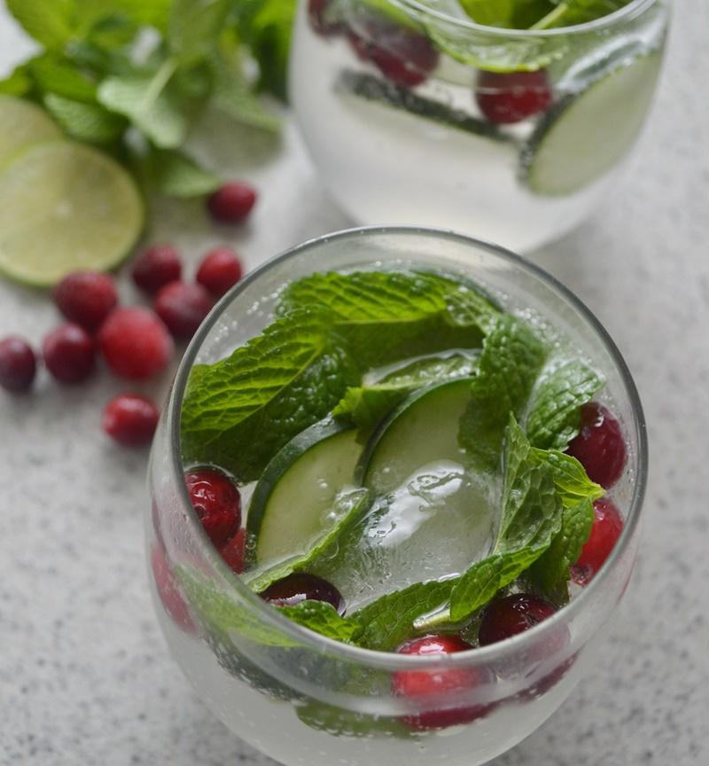 Bebida Navideña refrescante con #MielBiibii