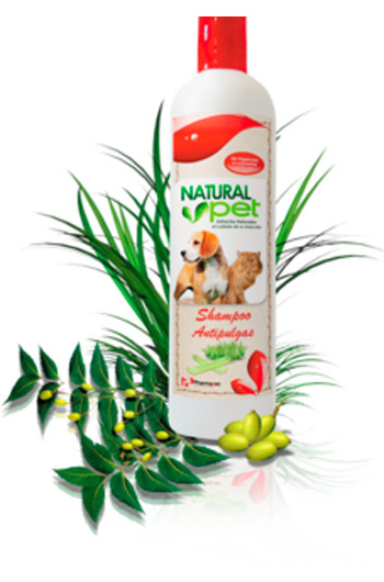 NATURAL PET SHAMPOO ANTIPULGA