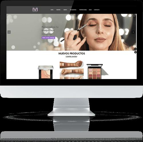 Página web Ivi make up