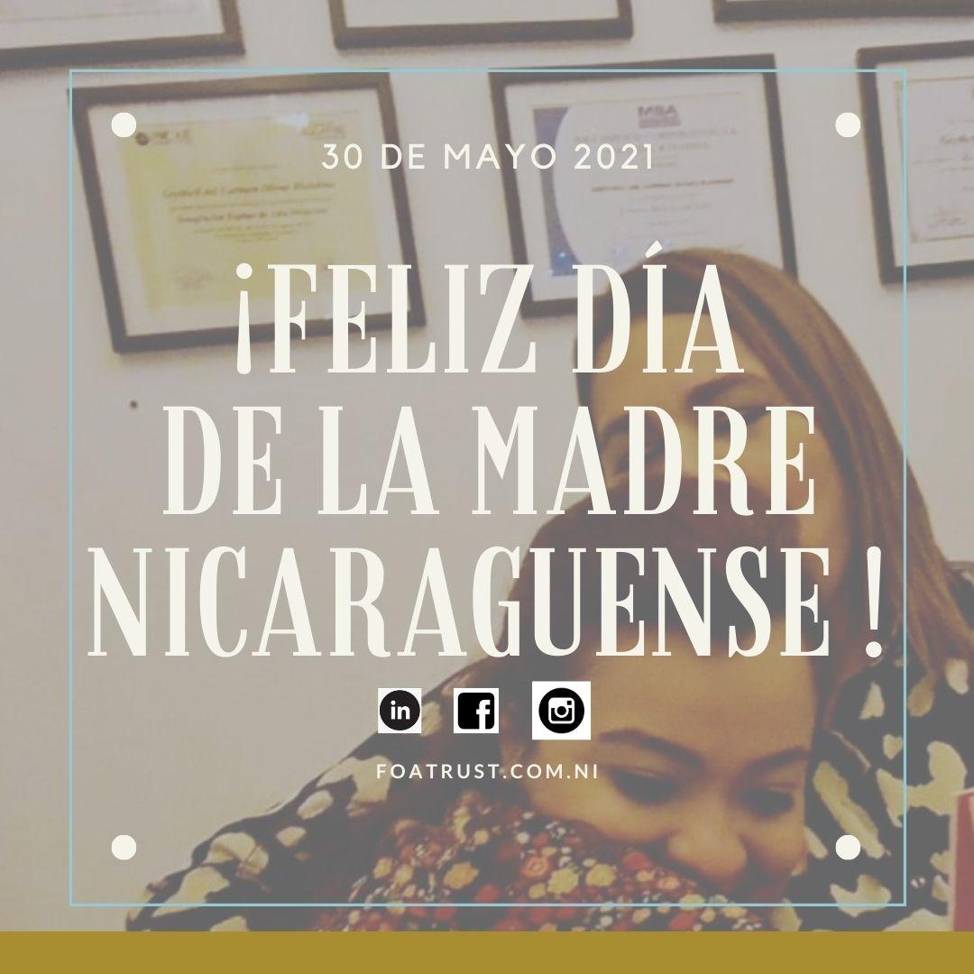 ¡Feliz día de la madre Nicaragüense!
