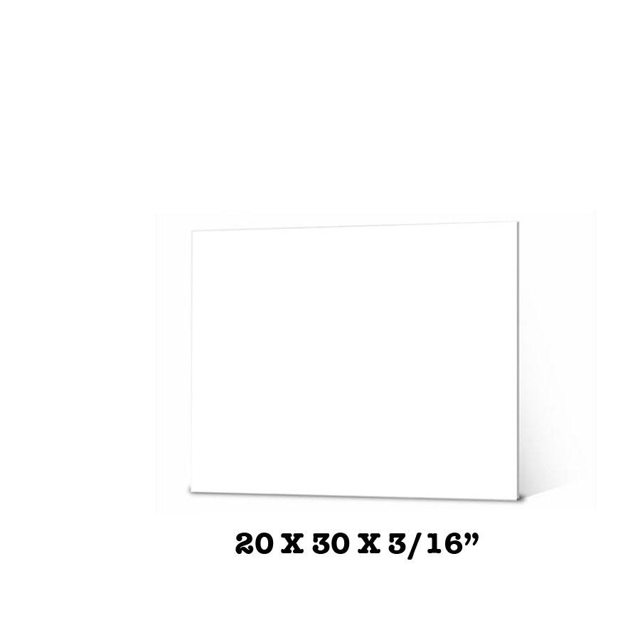 CARTON ESPUMA ELMERS BLANCO 20X30X3-16 950109