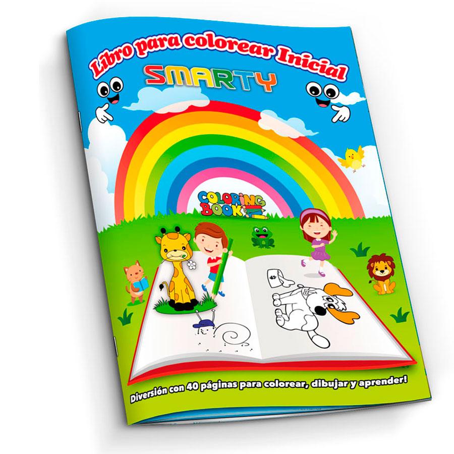 LIBRO PARA COLOREAR SMARTY INICIAL 40 PAG