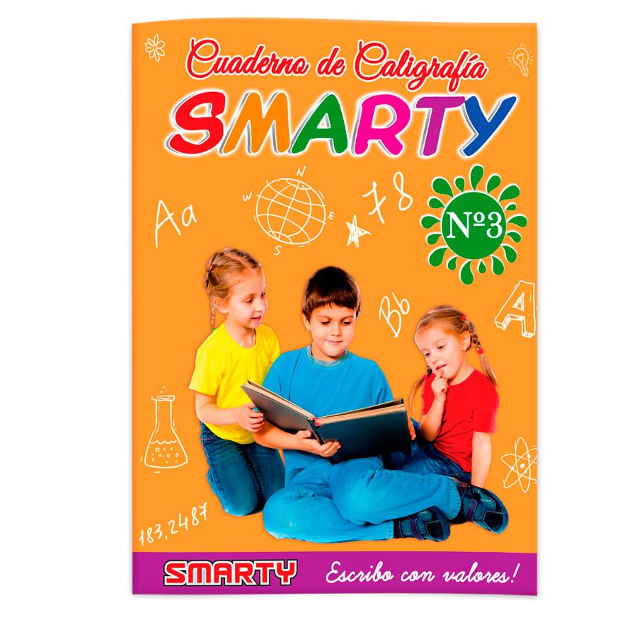 LIBRO CALIGRAFIA SMARTY n3