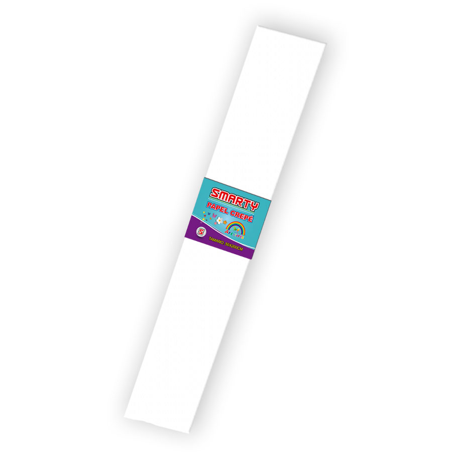PAPEL CREPE SMARTY n 80-20 BLANCO