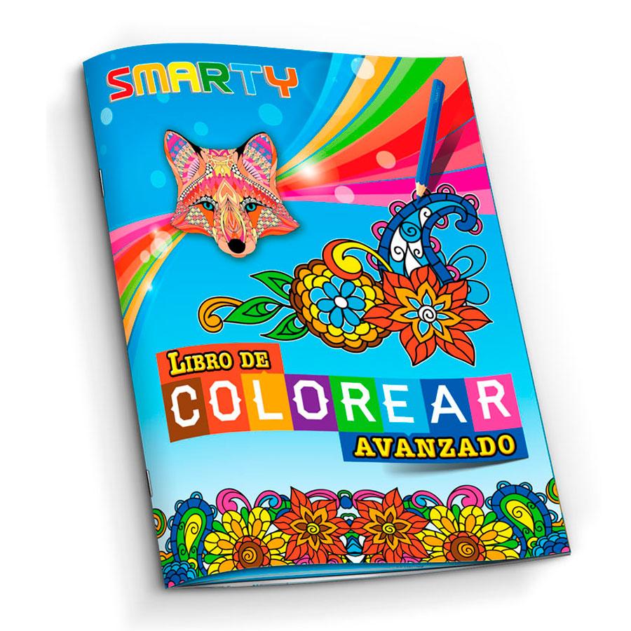 LIBRO PARA COLOREAR SMARTY AVANZADO 48 PAG - Gonper Librerías