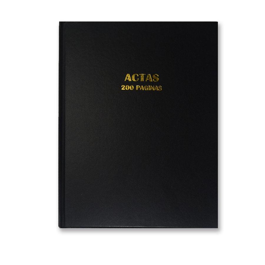 LIBRO EMPASTADO DE ACTAS 200F NB880100