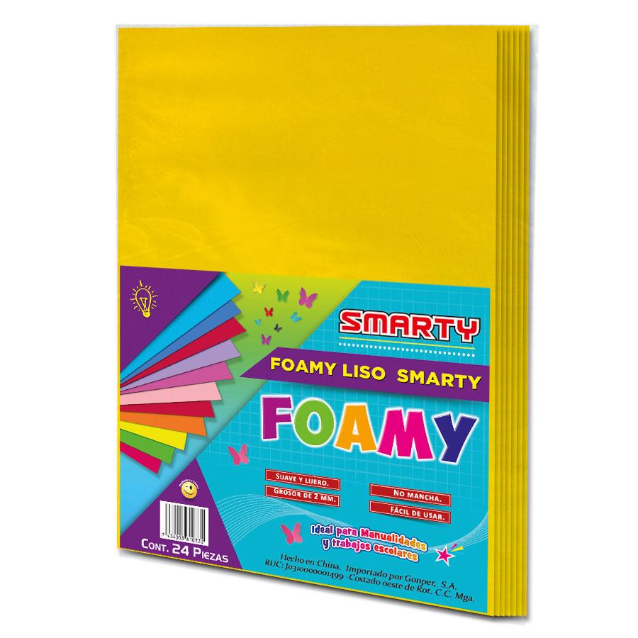 FOAMY SMARTY T/C AMARILLO MANGO 8.5X11' 2MM PQ-24UD FSC031
