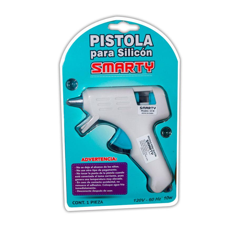 PISTOLA SILICONE SMARTY PEQUEÑA 120V GG-10W