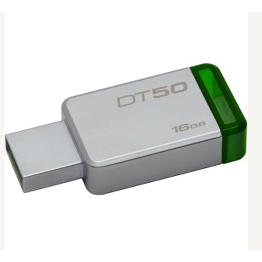 MEMORIA KINGSTON USB 16GB VERDE DT50-16GB 3.0