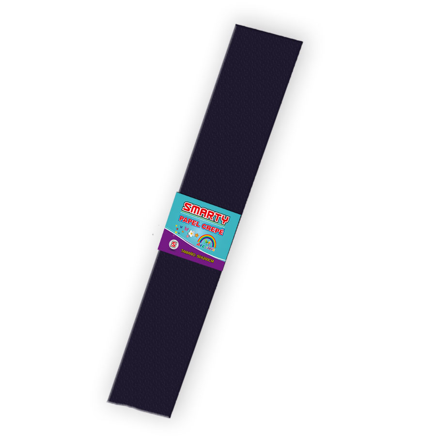 PAPEL CREPE SMARTY n 80-19 NEGRO