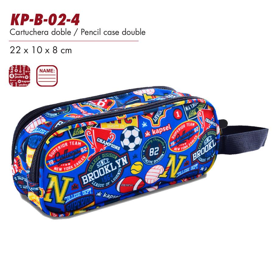 CARTUCHERA KAPSEL 2EN1 KP-B-02-4
