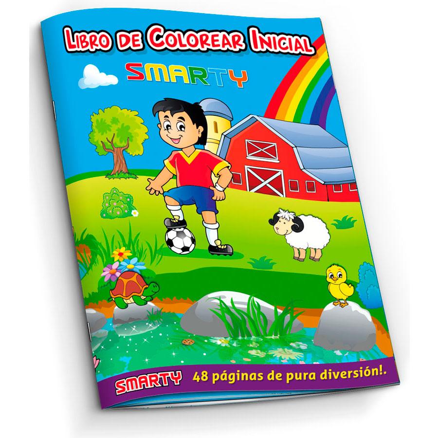 LIBRO PARA COLOREAR SMARTY INICIAL 48 PAG