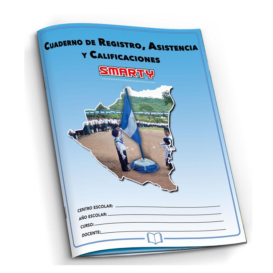 CUADERNO DE REGISTRO ASISTENCIA Y CALIFICACONES SMARTY