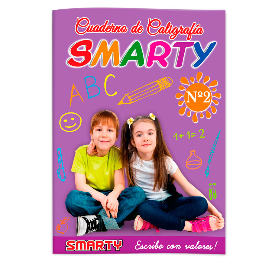 LIBRO CALIGRAFIA SMARTY n2