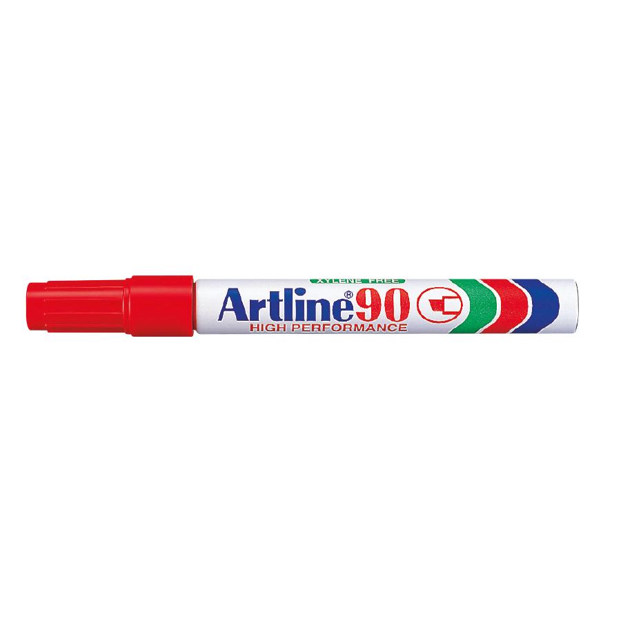 MARCADOR PERMANENTE ARTLINE 90XF P-B ROJO