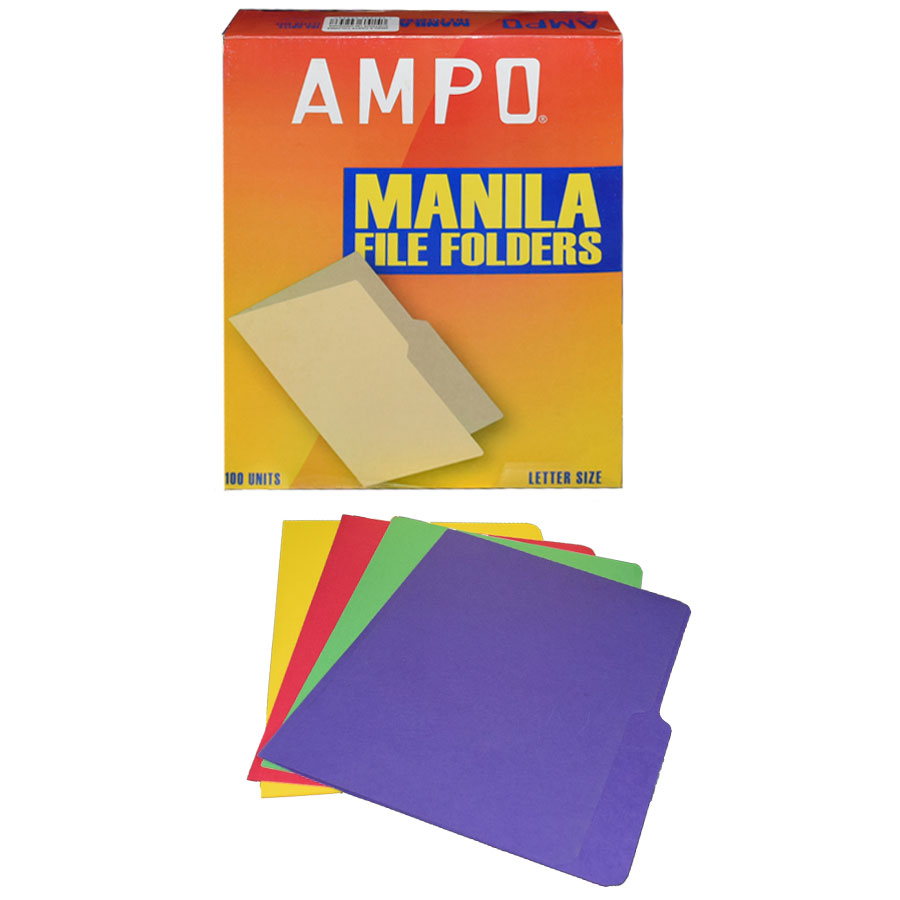 FOLDER AMPO COLORES T-CARTA CJ-100UD