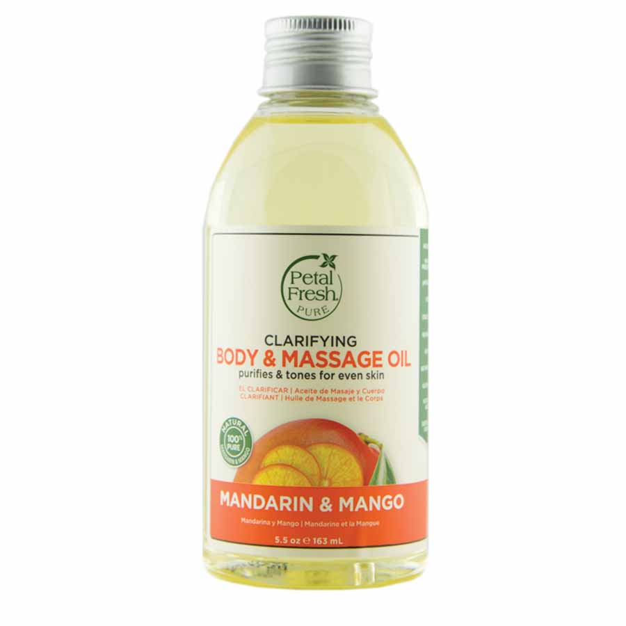 Clarifying MANDARIN & MANGO Body & Massage Oil