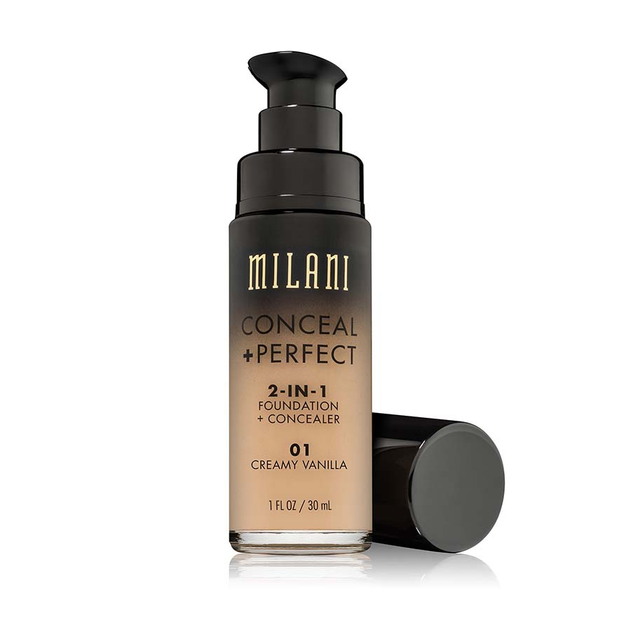 CONCEAL + PERFECT 2 IN 1 FOUNDATION CONCEALER #01