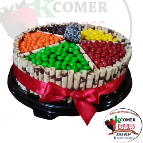 Torta de Chocolate Colorid