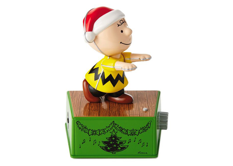 ADORNO NAVIDENO MUSICAL CHARLIE BROWN