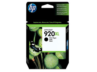 CARTUCHO HP #920XL NEGRO ALTO REND 1,200 Pag. PARA OFFICE JET 6000/6500/7000/7500 (CD975AL)