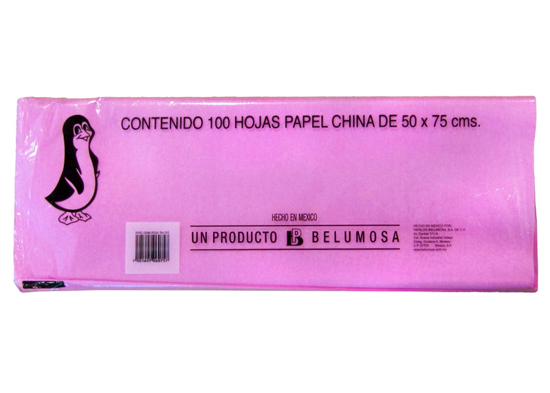 PAPEL CHINA UND ROSADO PALIDO 18gr
