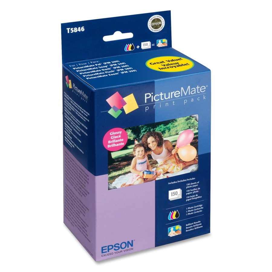 CARTUCHO EPSON T5846 P/PICTURE MATE 225/260 150hojas