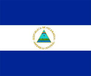 BANDERA NACIONAL NICARAGUA PLASTICA UND