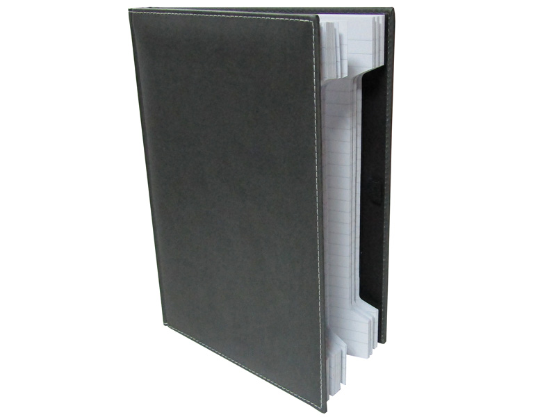 CUADERNO PROFESIONAL GRIS 17,2x24 320 Pag. 80 gr
