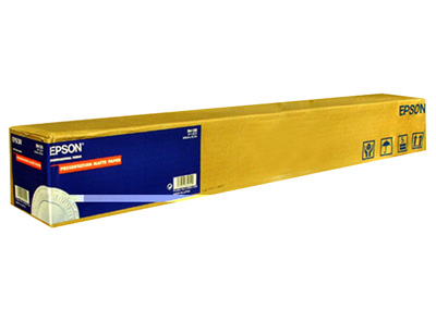 "PAPEL EPSON DOBLE WEIGHT MATTE 44"" x 82´ pies ROLLO"