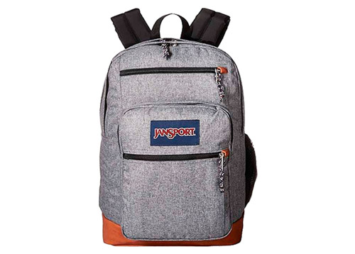MOCHILA P/LAPTOP COOL STUDENT GREY LETTERMAN POLY