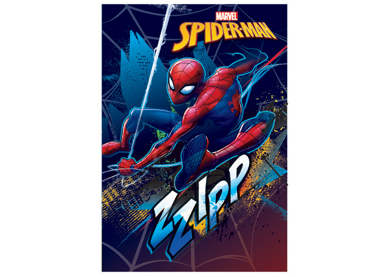 CARPETA CON LIGA SPIDERMAN