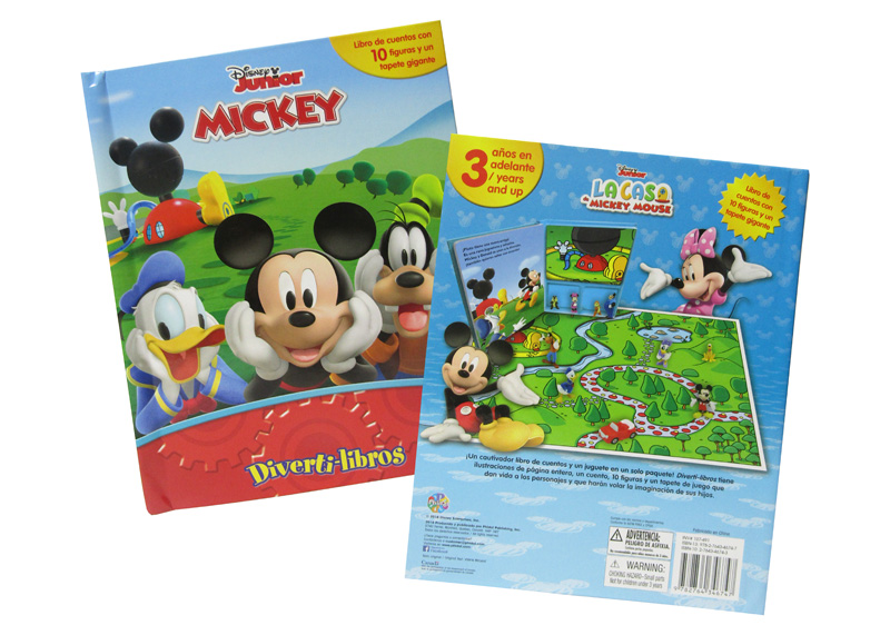 DIVERTI LIBROS DISNEY MICKEY