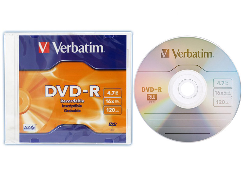DISCO DVD-R GRABABLE 4.7GB 16X 120min