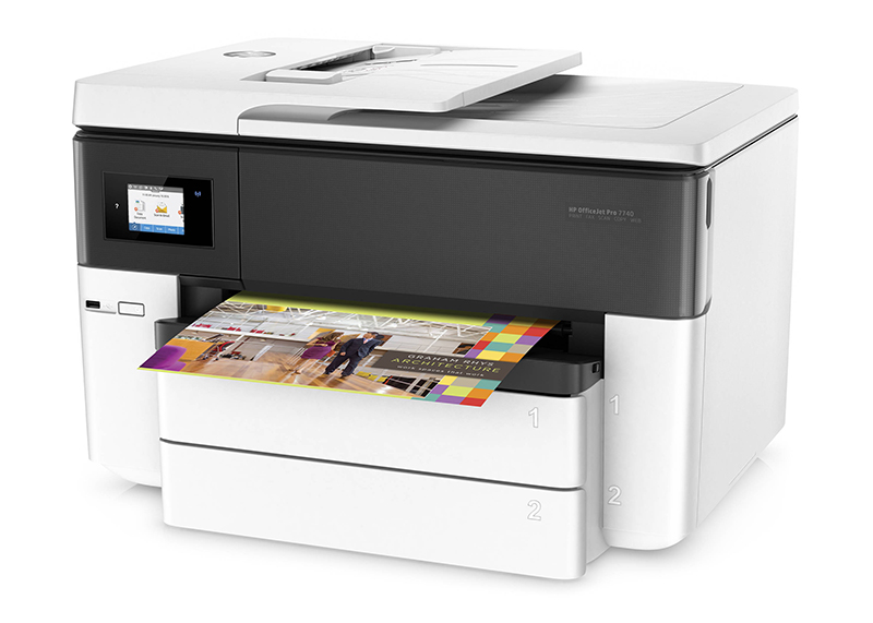 IMPRESORA HP OFFICE JET 7740 ALL IN ONE